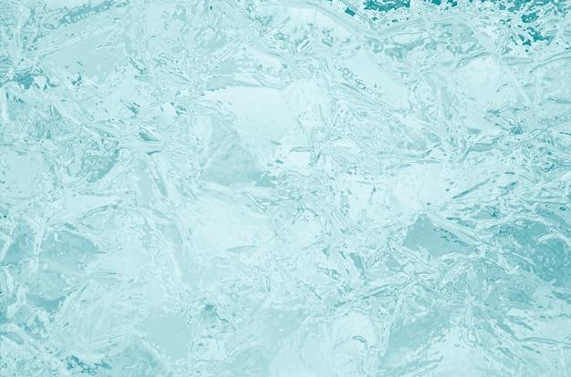 Bevroren ijs textuur achtergrond
