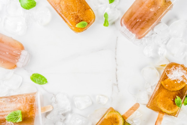 Bevroren verfrissende drankjes