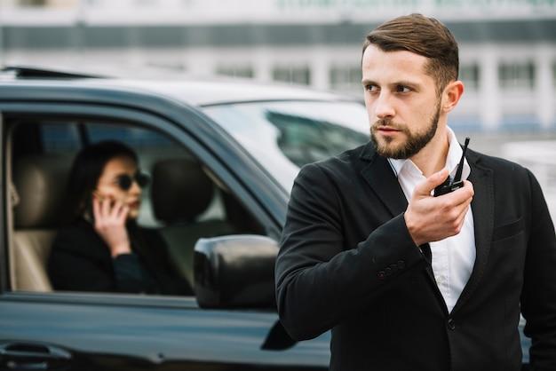 Bewaker die client beschermt