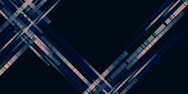 Bewegend licht paden abstracte grafische achtergrond 3d illustratie