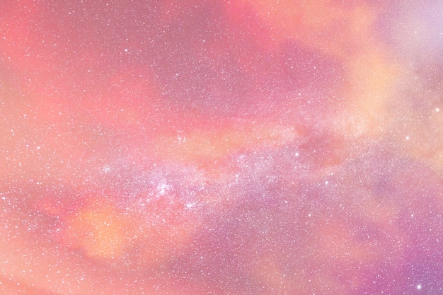 Bewolkte avond roze hemel achtergrond afbeelding