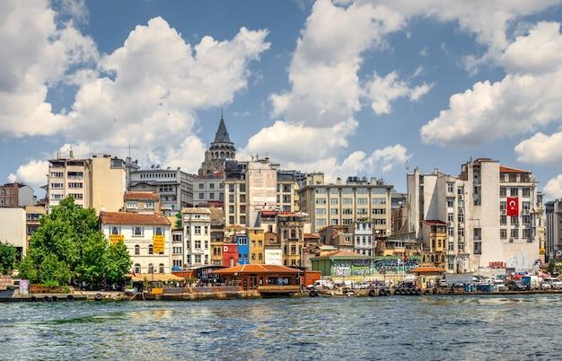 Beyoglu-district in istanboel, turkije