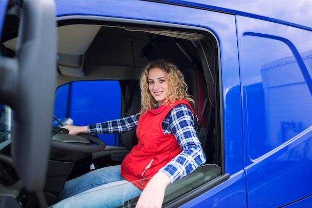 Bezetting van vrachtwagenchauffeurs