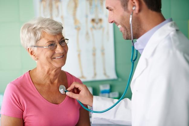 Bezoeken bij mijn dokter zijn niet onaangenaam