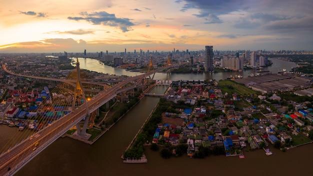 Bhumibol bridge bangkok