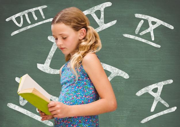 Bibliotheek concentratie boeken tekstboek gericht