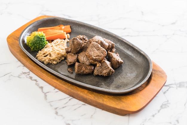 Biefstuk met groente