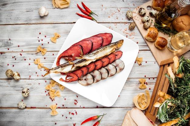 Biermix snack chum zalm roze zalm makreel
