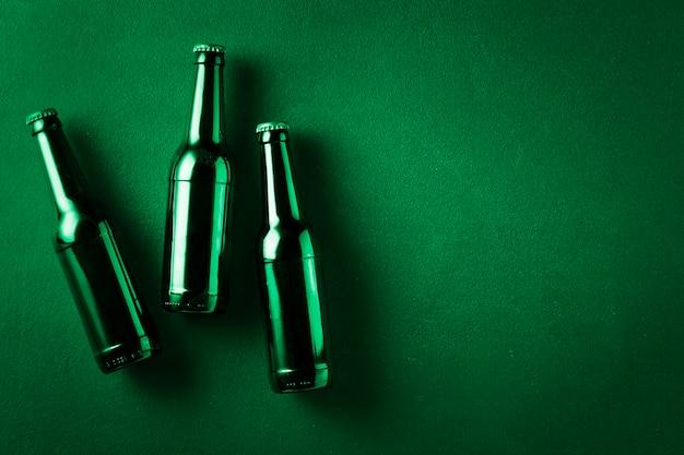 Bierpul, ierse shamrock, lucky irish, flessendeksels, gekoeld bier