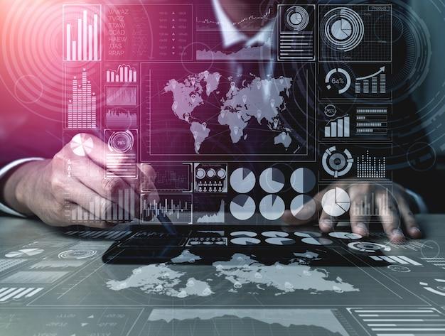 Big data-technologie voor business finance analytics.