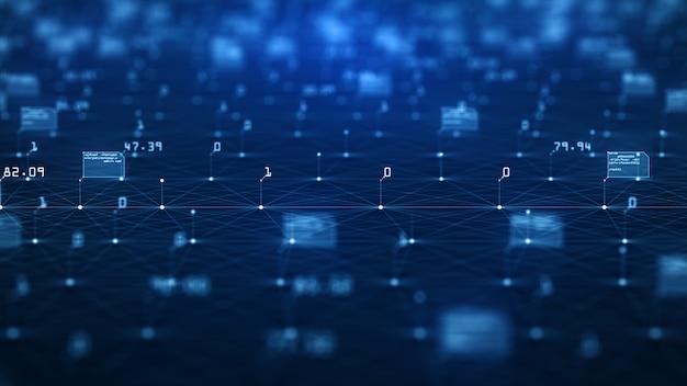 Big data visualisatie concept