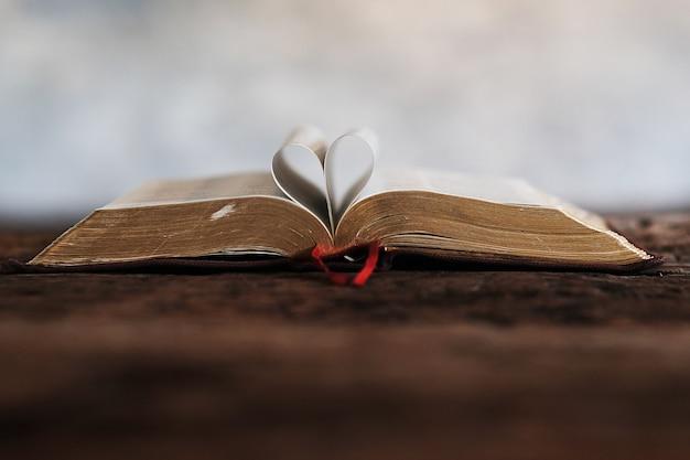 Bijbelboeken en het hart.