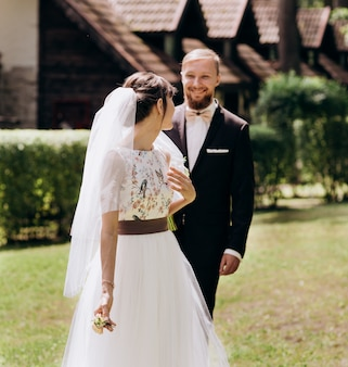 Bijeenkomst van de bruid en de bruidegom