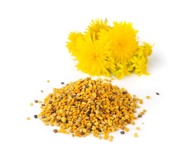 Bijenpollenkorrels of bijenbrood