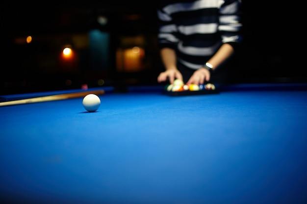Biljartballen - pool