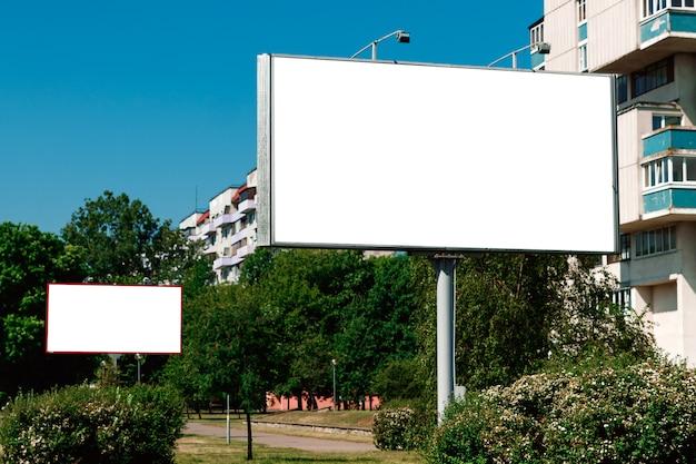 Billboard, billboard, canvas billboard, stad