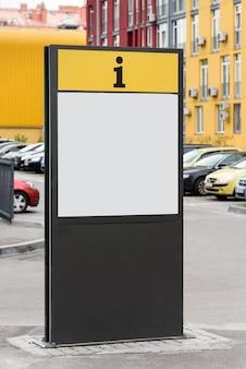 Billboard op straat, informatie