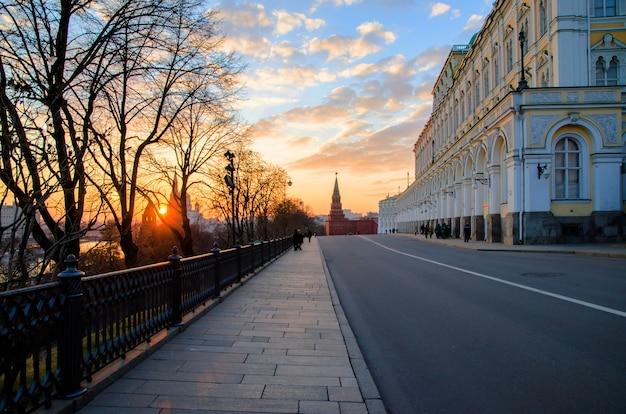 Binnen het kremlin van moskou.