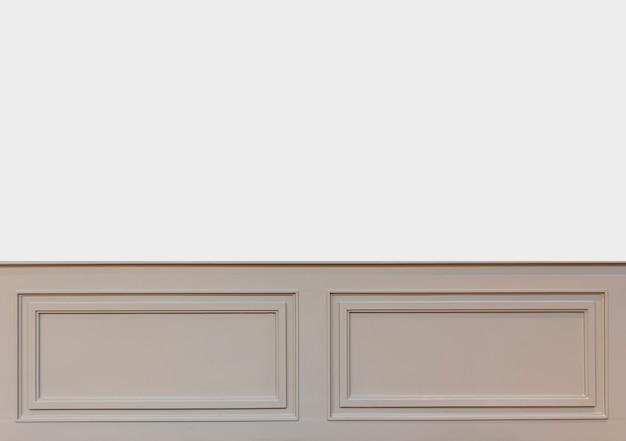 Binnenmuren met kopieerruimte. muren met lijstwerk