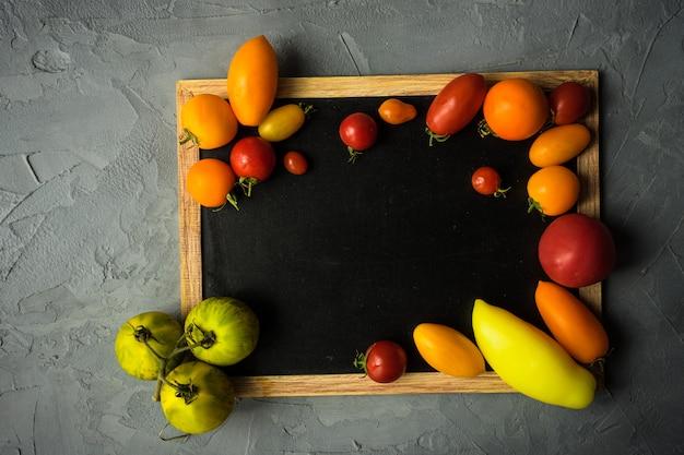 Biologisch voedsel concept