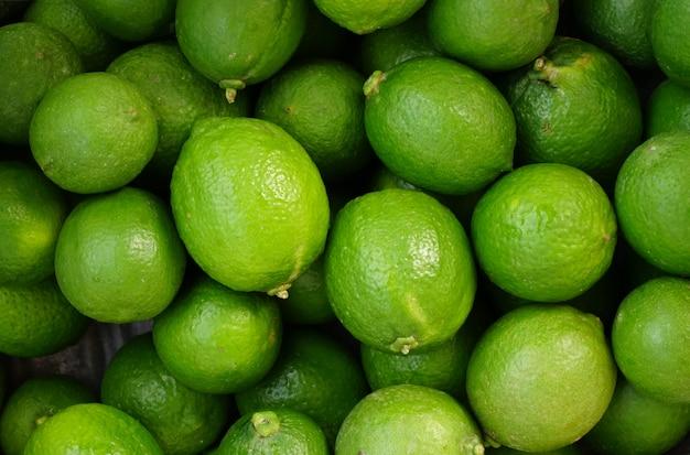 Biologische groene limoen achtergrond