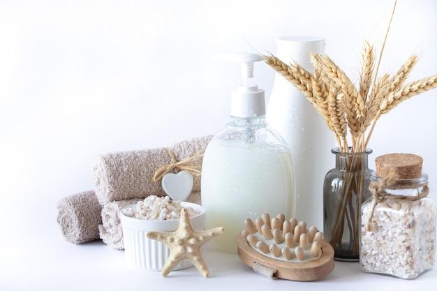 Biologische producten voor bad en spa