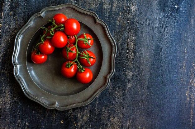 Biologische verse tomatenkers