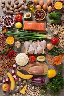 Biologische voeding voor gezonde voeding