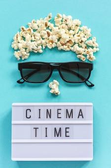 Bioscoop plat met clapperboard