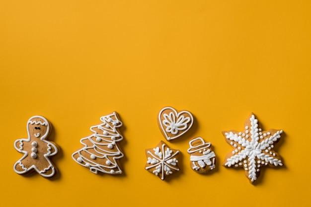 Biscuit geschenk fortuna gouden achtergrond