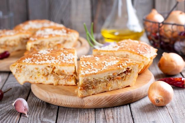 Biscuittaart of chiffoncake heerlijk met ingrediënten