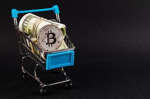 Bitcoin btc cryptocurrency betaalmiddelen in de financiële sector