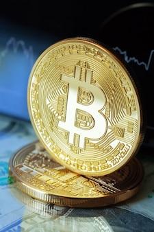 Bitcoin crypto valutadiagram