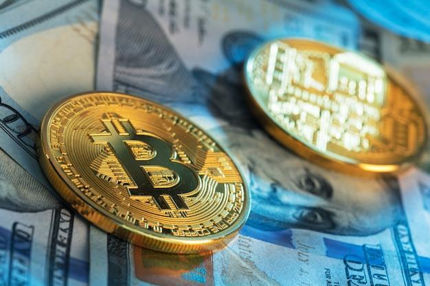 Bitcoin en dollar