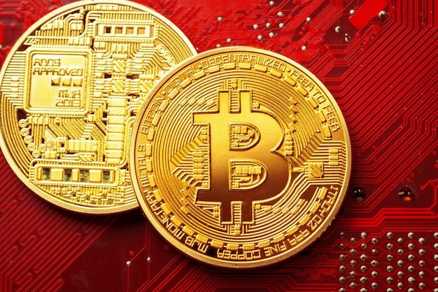Bitcoin en een grafische computerkaart