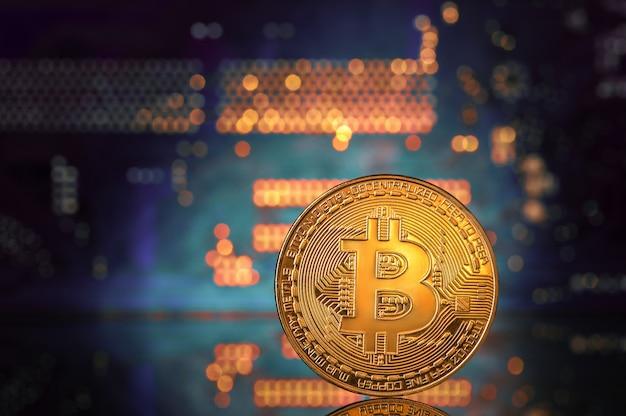 Bitcoin en moederbord