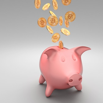 Bitcoin en spaarpot
