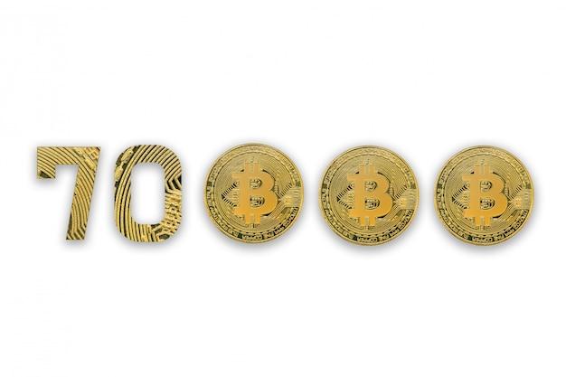 Bitcoin gouden munten