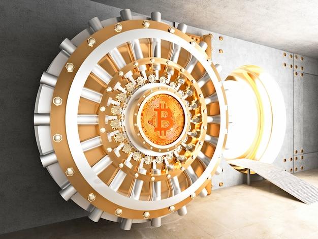 Bitcoin kluisdeur