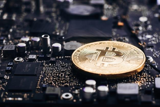 Bitcoin op een processor