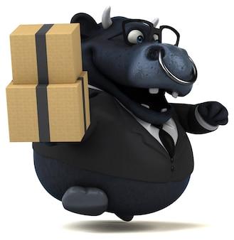 Black bull animatie