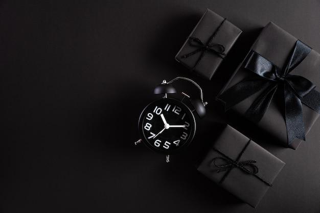 Black friday-de achtergrond van de verkoopsamenstelling.
