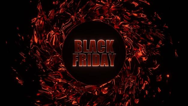 Black friday e-commerce bannerontwerp