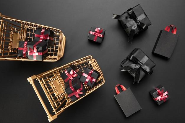 Black friday geschenken arrangement