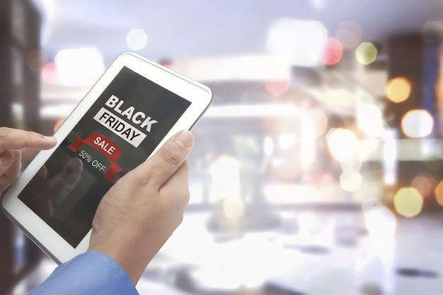 Black friday met speciale kortingsprijs halve prijs