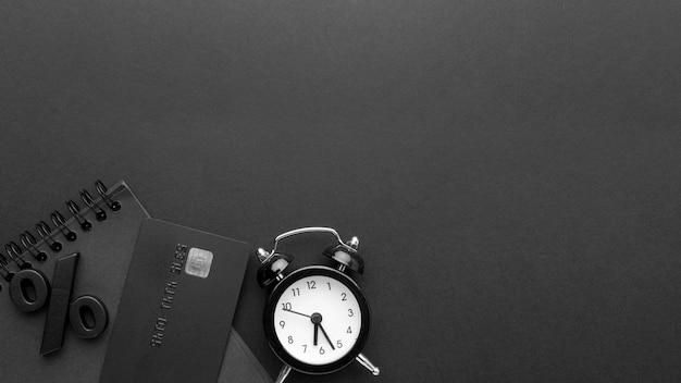Black friday-verkoopregeling met exemplaarruimte