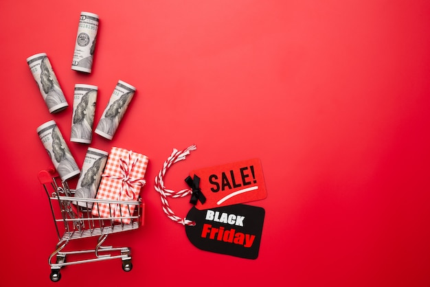 Black friday-verkooptekst