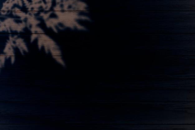 Bladeren op zwarte achtergrond