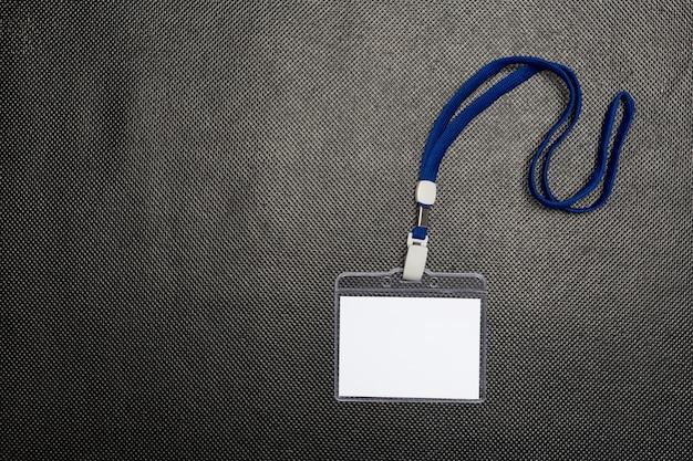 Blanco badge mockuplany