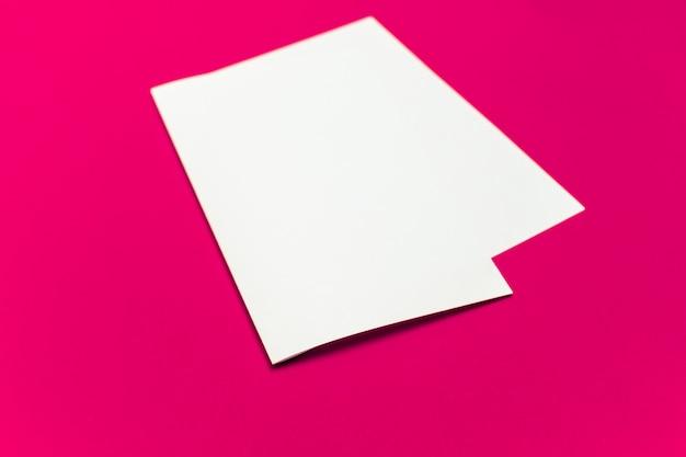 Blanco vel papier op